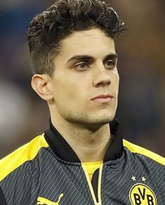 Marc Bartra, black and yellow fits you well ;)