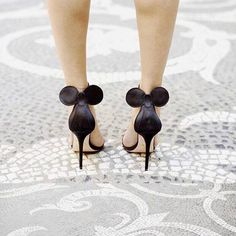 Disney heels. Mickey Mouse pumps