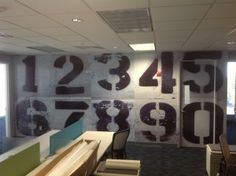lobby wall graphics - Google Search