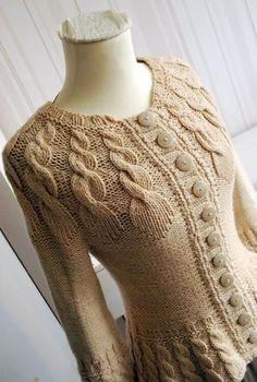 Vivrut Designs: Üks pisut slaavipärane kardigan / A bit Slavic cardigan Sweater Knitting Patterns, Knit Patterns, Baby Knitting, Pull Crochet, Knit Crochet, Crochet Designs, Knitting Designs, Pull Torsadé, Cardigan Pattern