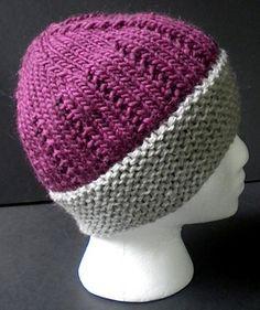 Nice hat - free pattern.