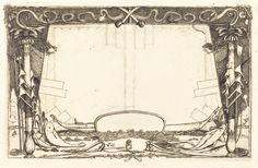 "Charles Meryon, 'Couverture du ""Voyage à la nouvelle Zélande"" (Cover for the Set of Etchings Entitled ""A Voyage to New Zealand""),' 1866, National Gallery of Art, Washington D.C."