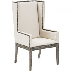 Nailhead Dining Chair - Furniture - Dining - Chairs & Benches - Dazzling Nailheads