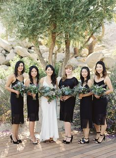 Modern Palm Springs wedding at Frederick Loewe Estate | Photo by Michael Radford | Read more -  http://www.100layercake.com/blog/wp-content/uploads/2015/02/Modern-Palm-Springs-Wedding