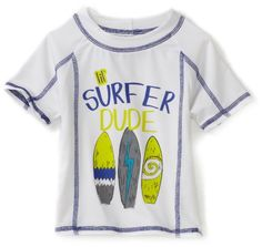 Ixtreme Baby-Boys Infant Surfer Dude Rash Guard $15.40