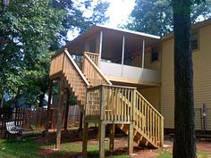 two story decks with stairs | Factory Direct Remodeling of Atlanta - Photo Gallery