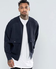 http://www.quickapparels.com/oversized-jersey-bomber-jacket-with-patch-pockets.html