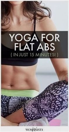 Yoga workout - ab focused. #YogaWorkouts