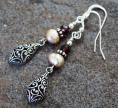 Bali Sterling Kite Earrings Handcrafted by JensFancy on Etsy, $38.00