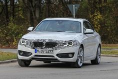 2017 BMW 2 Series facelift spotted in spy shots  pictures...