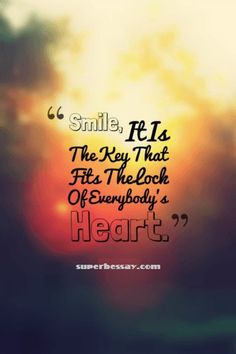 Everyone smile even if you don't want to, if u fake smile you eventually do smile! 😊 I upload original quotes! Smile Quotes, Words Quotes, Sayings, Mantra, Video Motivation, World Smile Day, Believe In Yourself Quotes, Encouragement, Original Quotes