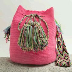 Wayuu Bags — Coming Soon Tapestry Bag, Tapestry Crochet, Knit Crochet, Handmade Handbags, Handmade Bags, Ethnic Bag, Crochet Handbags, Crochet Bags, Boho Bags