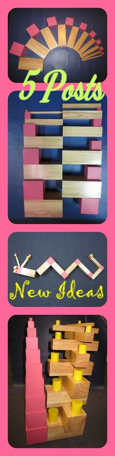 Inspired Montessori and Arts at Dundee Montessori: Pink Tower/ Brown Tower Extensions