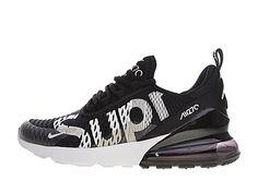 sports shoes af706 d09da Coussin Dair Officiel Nike Air Max 270 Midnight Chaussures Sportswear Homme  Noir blanc AH8050-100