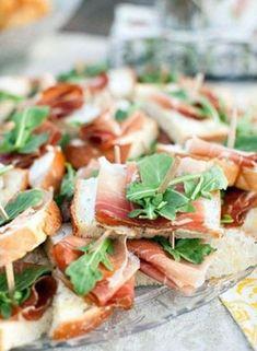 52 аппетитные закуски для фуршета- The-wedding.ru