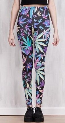 Check out these awesome rainbow weed print leggings!  Go all out in these pants!  Made with milk silk!   Free shipping worldwide & No sales taxes on ALL orders!   *PLEASE NOTE THAT IF YOU PURCHASE MORE THAN 1 ITEM SOME ITEMS WILL COME IN SEPARATE PACKAGES PER ITEM*
