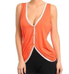 Orange sexy top