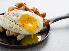 The runnier the yolk, the better.
