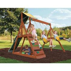 Sunview II Complete Gym Set swingset