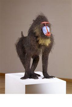 Kendra Haste   wire sculpture
