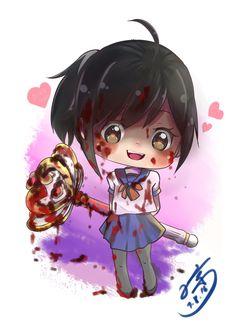 Cute Ayano and Magic Wand Ver Bloody by eisjon