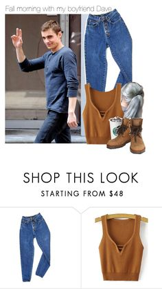 """""""Fall mornings with my boyfriend Dave"""" by alphagabi ❤ liked on Polyvore featuring PèPè and Chanel"""