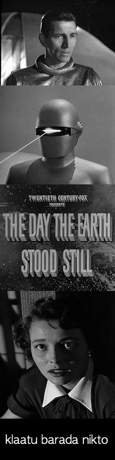 One of the best science fiction movies of all time (1951) Perhaps the first serious and moralistic sci-fi film.