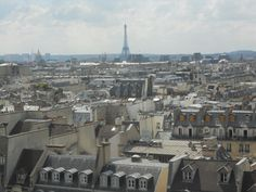 Paris, des del Pompidou...  Paris, depuis le Pompidou...