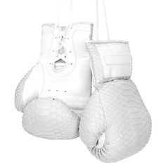 Elisabeth Weinstock Manila Boxing Gloves (€1.205) ❤ liked on Polyvore featuring gloves, sports, accessories, athletic and gym