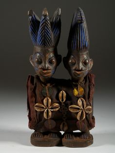 La sculpture Yoruba, les statuettes Ibeji.