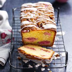Raspberry & Lemon soured cream cake - see post-it for conversions *NOT frozen raspberries!!*
