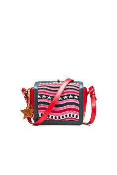 M-Missoni - MINI BAG IN PINK RIPPLE PATTERN