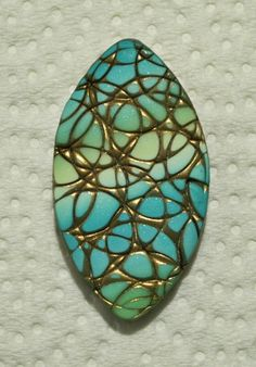 Polymer Clay Pendant by Sweet2Spicy, via Flickr