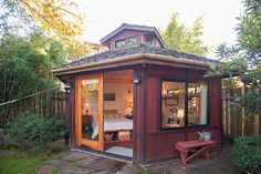 23 Airbnb Rentals That Have Us Trippin'! #refinery29  http://www.refinery29.com/2014/03/64349/best-air-bnb-listings#slide21  Urban Garden Studio In Portland Hood: Richmond, OR Price: $67 per night