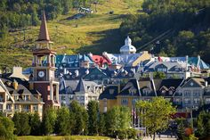 A summer weekend in Mont-Tremblant could be your perfect getaway. Make your way out to Quebec for one of the most beautiful landscapes Canada has to offer Quebec, Montreal, Canada, Travel List, Beautiful Landscapes, Family Travel, North America, Places To Go, Adventure