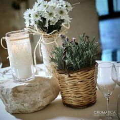 Country Wedding | Centerpiece  www.trattidamore.it  Ph : Cromatica Wedding  #trattidamore #wedding #eventplanner #weddingdesigner #cromaticawedding #matrimonioinpuglia #Puglia #Italy #weddinginpuglia #weddingapulia #weddinginspiration #weddingideas #centerpiece #bride #ceremony #countrywedding #lavender