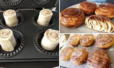 Mini Pie Recipes, Sweet Recipes, Bread Recipes, Yummy Recipes, Recipies, Cooking Recipes, Mini Desserts, Easy Desserts, Dessert Recipes