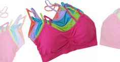 Enter to win a seamless pink scoopneck bra from Coobie for Breast Cancer Awareness month!