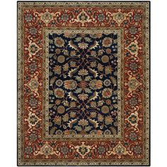 Safavieh Royalty Collection ROY257A Handmade Navy and Rust Wool Area Rug, 6 feet by 9 feet (6' x 9') Safavieh http://www.amazon.com/dp/B000TGMXDW/ref=cm_sw_r_pi_dp_aBKmwb056D7KE
