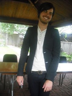 Spencer Smith smiling is WONDERFUL! Actually, Spencer alone is wonderful! Pretty People, Beautiful People, Jon Walker, Spencer Smith, Dallon Weekes, Pete Wentz, Brendon Urie, Panic! At The Disco, My Tumblr