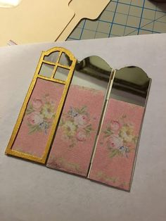 Creating my own miniature pieces for the dollhouse is exciting. There is a big learning curve, as miniature making is fiddly work. Diy Doll Miniatures, Dollhouse Miniature Tutorials, Miniature Rooms, Miniature Crafts, Miniature Furniture, Diy Dollhouse, Dollhouse Furniture, Diy Barbie Furniture, Furniture Ideas