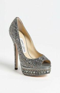 Grey Jimmy Choo Shoes