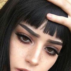 Edgy Makeup, Makeup Inspo, Makeup Inspiration, Makeup Tips, Hair Makeup, Grunge Eye Makeup, Makeup Ideas, Grunge Makeup Tutorial, Makeup Style