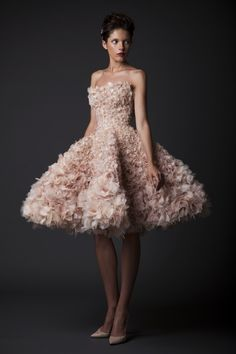 check out the new stunning collection by the Lebanese fashion designer Krikor Jabotian. The collection is know as Amal, which means hope in Arabic