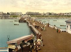 From the pier, Clacton-on-Sea, Essex, England, c. Seaside Resort, Seaside Towns, 1960s Britain, Places To Travel, Places To Visit, Moving To New Zealand, Seaside Holidays, British Seaside, Destinations