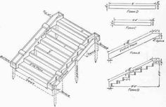 Forms for concrete steps