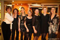 Festa de 29 anos da Porta Azul (Inez, Nirce, Daiane, Cris, Alda, Emy e Camila)