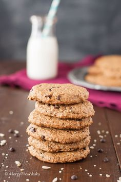 Protein Packed Monster Breakfast Cookies (grain, egg & nut free)
