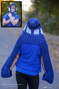 Dr Who! Hat & Scarf or Scoodie! - pinned by Hook & Needle Around