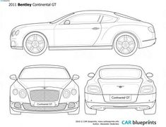 2011 Bentley Continental GT Coupe Blueprint Gt Speed Cars
